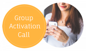 group activation call copy